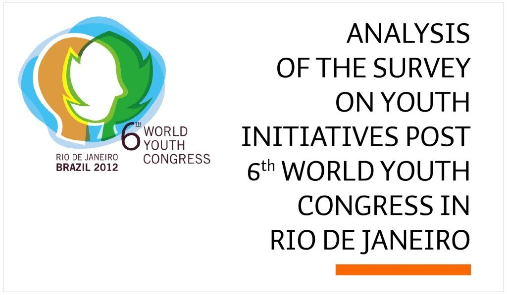 Analysis of the survey on youth initiatives