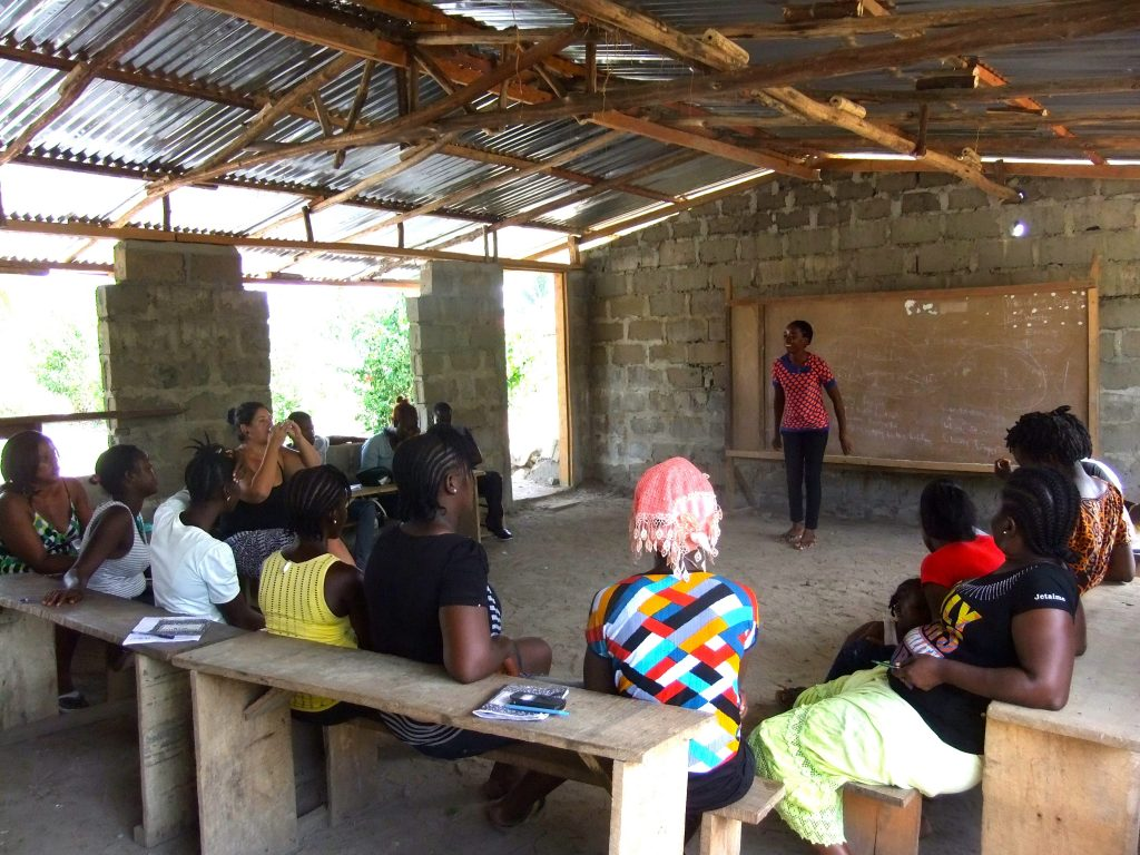 Be the Change Academy in Liberia providing enterprise training Post-ebola