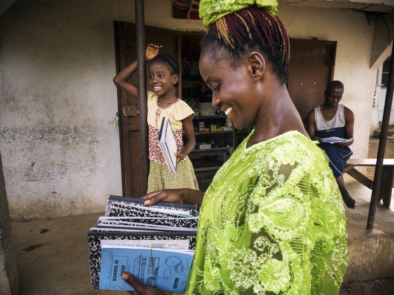 Liberian Entrepreneur Gbasay Davies
