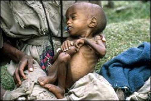 Starvation in Swaziland While the King Feasts
