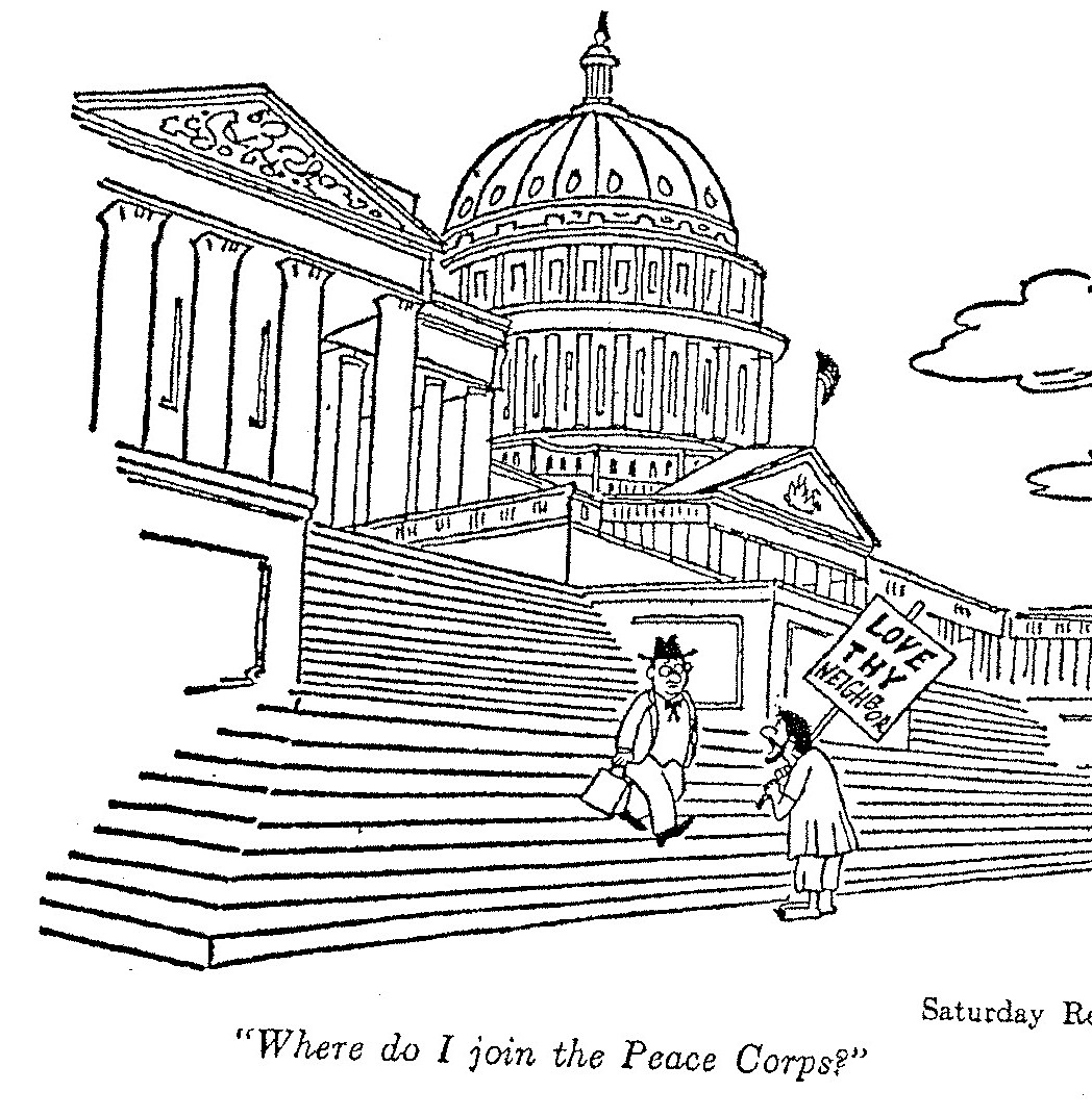 Day Five Of Innocence, The Peace Corps in 1961-1962