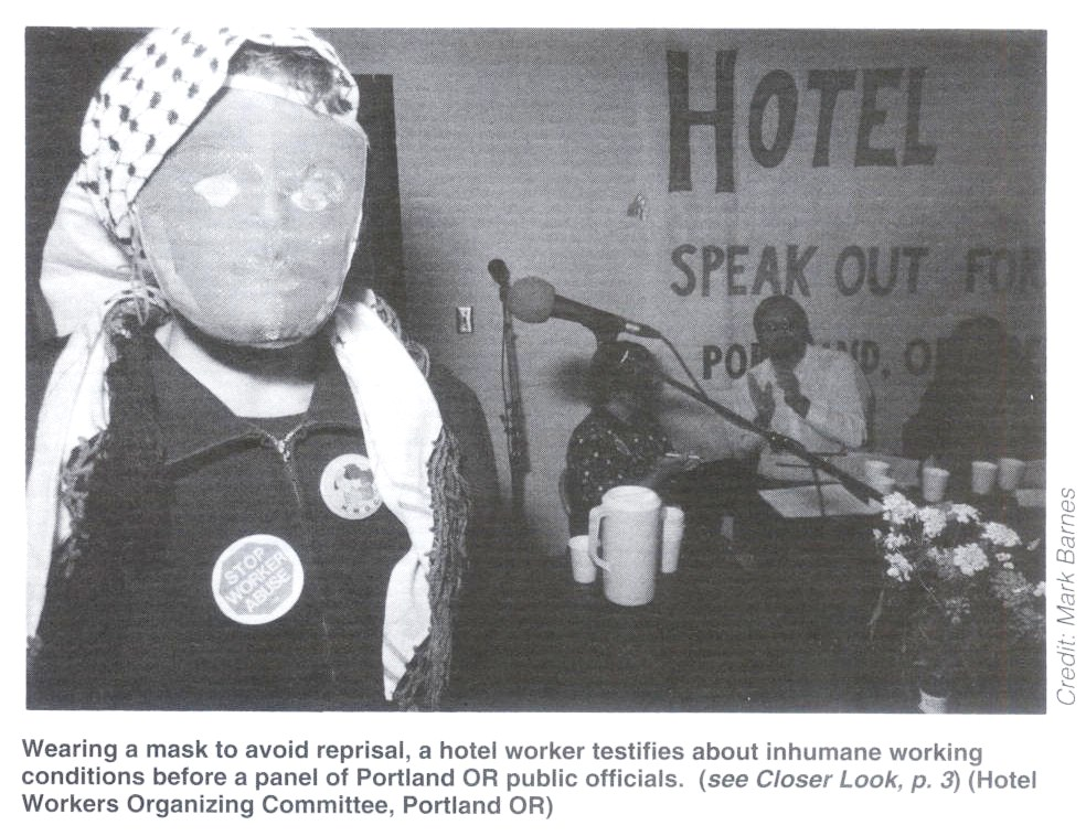 Hotel Workers Still at Risk (2/3)