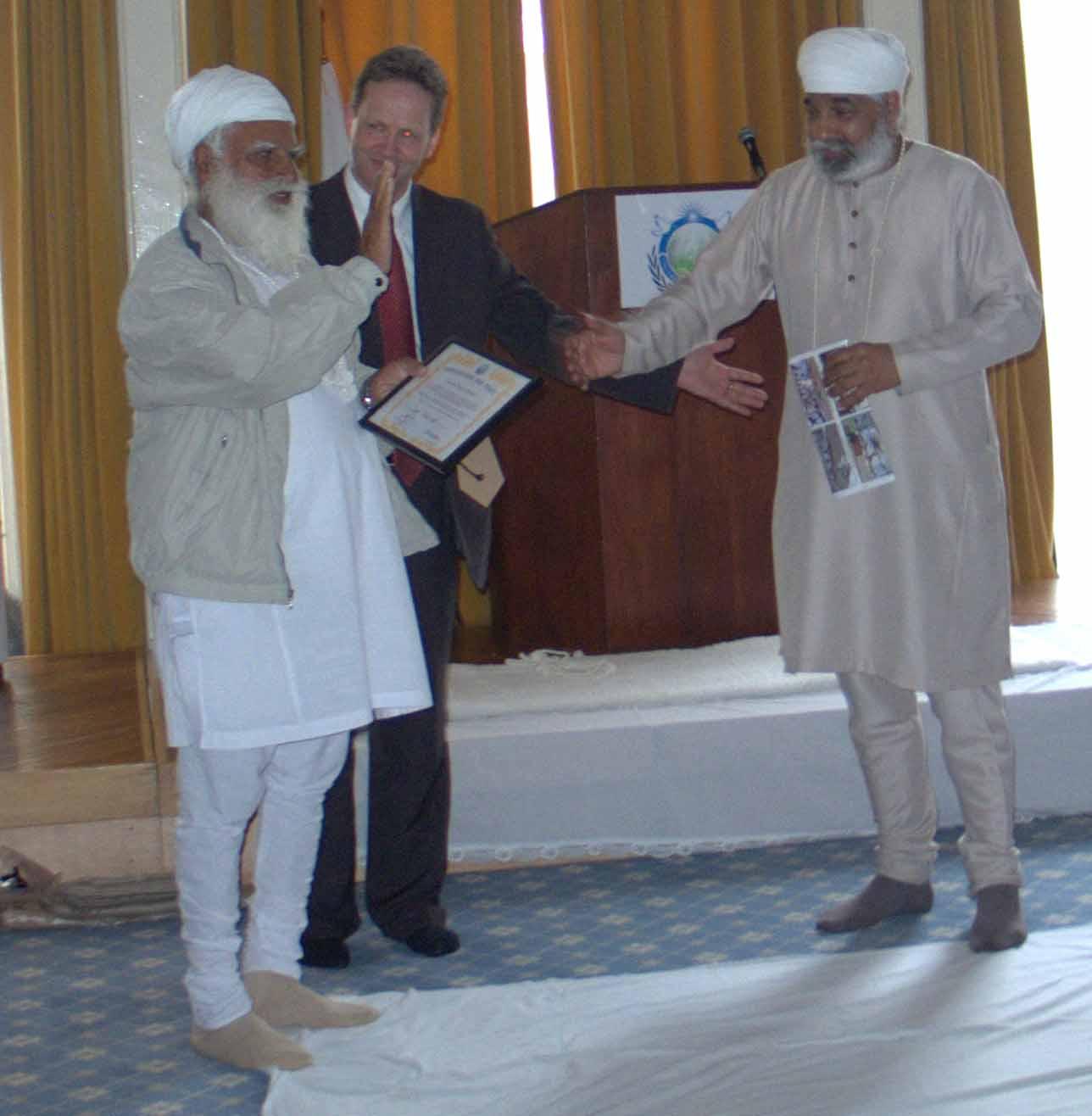 Ambassador for Peace Award - Prof. Tara Singh Anjan