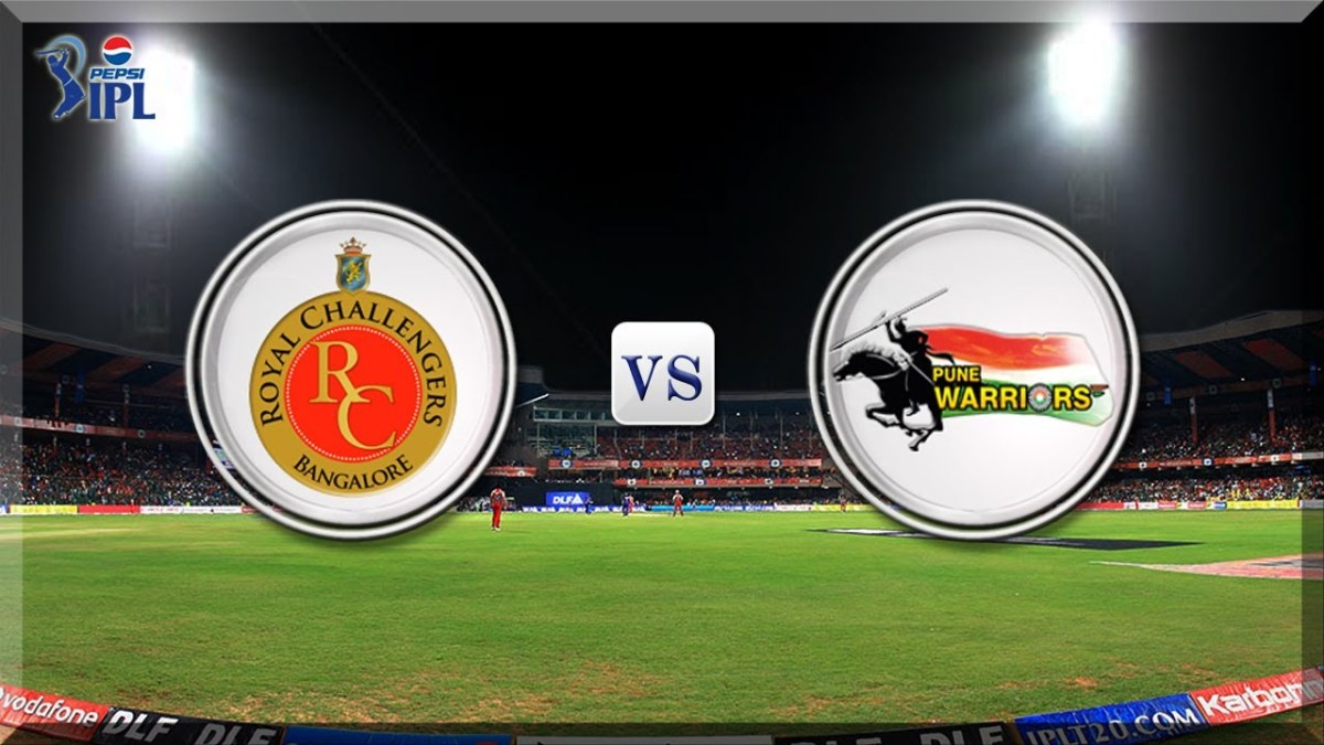 Cricket - RCB vs PWI Pepsi IPL 2013 Full Match Replay