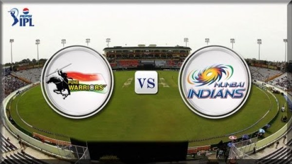PWI vs MI Pepsi IPL 2013 Full Match Replay