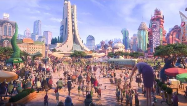 Zootopia Mr Big Scene