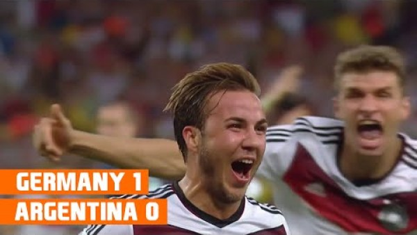 Germany vs Argentina (1-0) World Cup 2014 Highlights