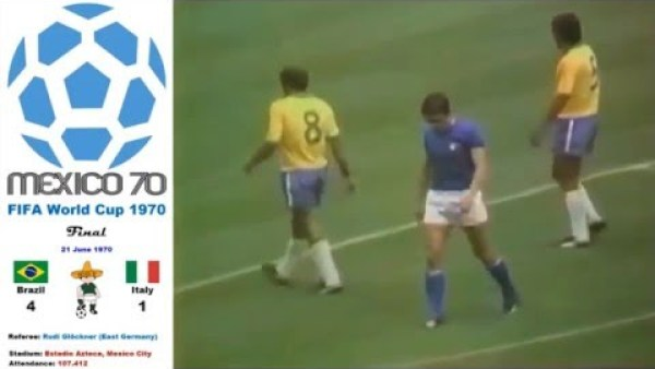 World Cup Mexico 1970: Brazil - Italy 4-1 (Final) - HD