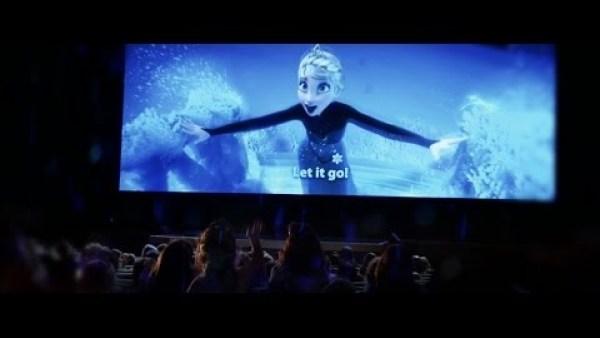 Latest Hollywood Movie: Frozen Sing-Along - Now Playing in Theatres HD