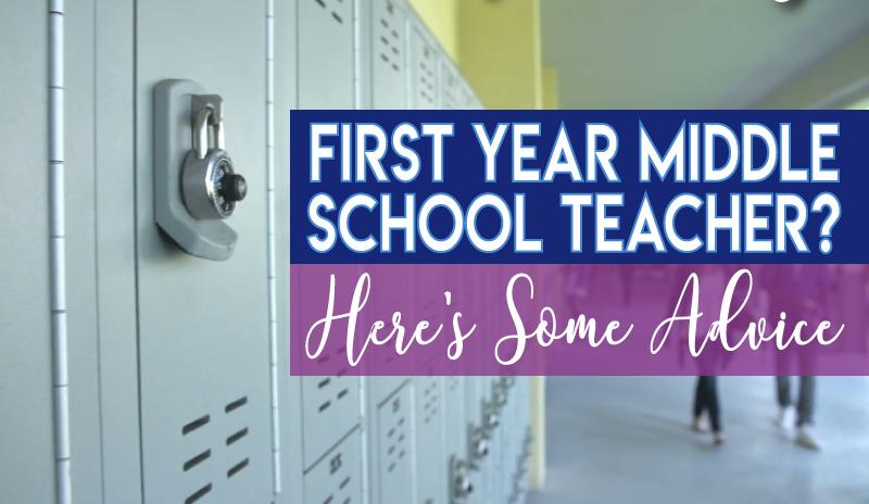 first year middle school teacher advice