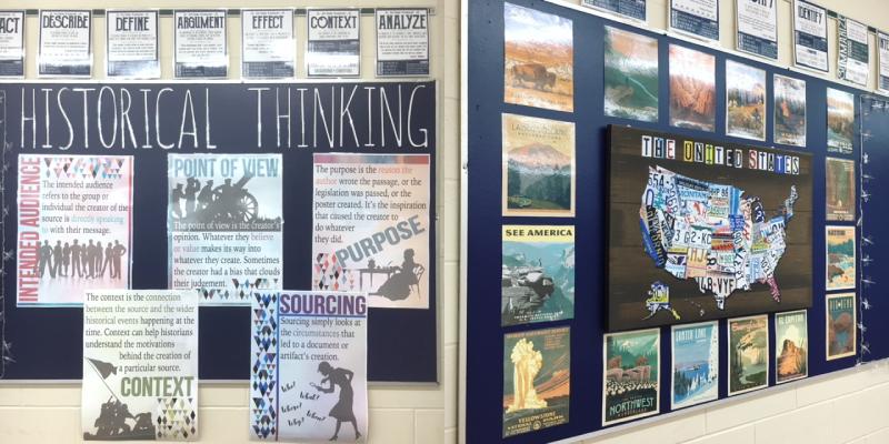 Social Studies Classroom Decor