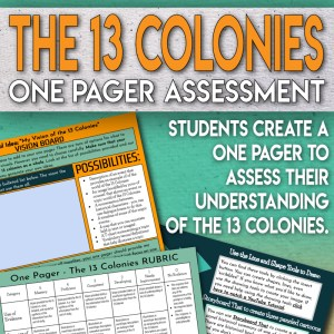 13 Colonies One Pager Project