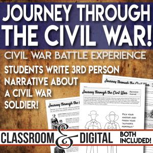Civil War Interactive Narrative Experience
