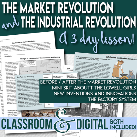 The Market and Industrial Revolutions pr