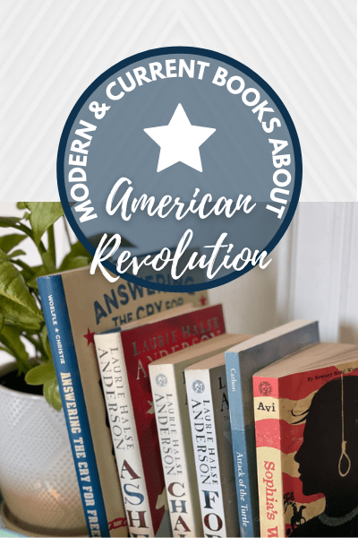 Pinterst Pin - Modern and Current Books about the American Revolution