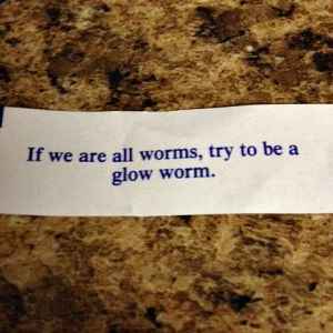 Wait...what?!  Why are we all worms?