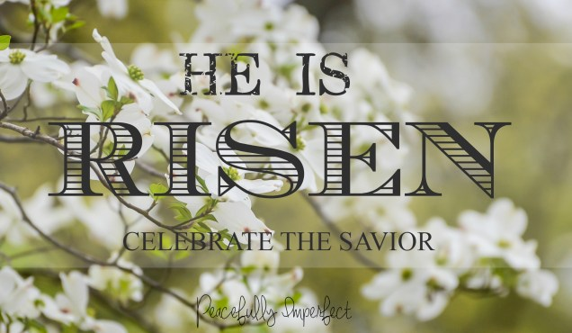 He is Risen with overlay