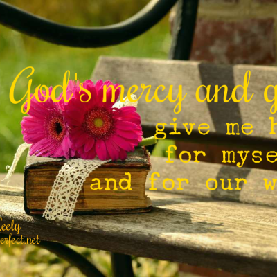 The moment God whispers for us to be quiet and keep a sweet spirit
