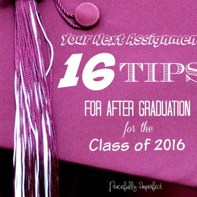 For every graduate preparing for their next assignment