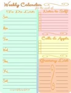 weekly-calendar-one-sheet