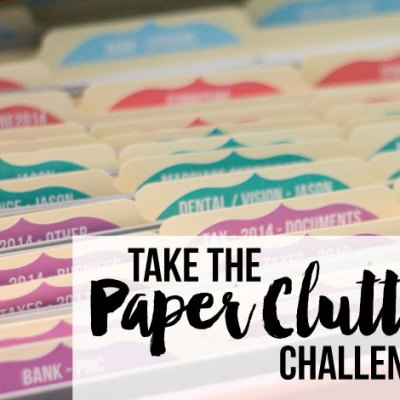 Bonus Content #3 Take the Paper Clutter Challenge