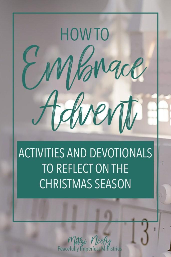 Embrace Advent