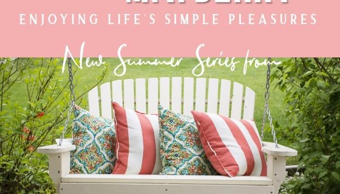 Enjoy Life's Simpler Pleasures