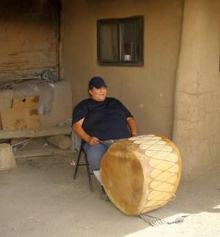 Pueblo Drummer and Singer