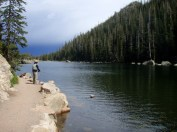 Fishing Rocky Mountain N.P.