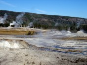 Springs and Geysers Near Old Faithful
