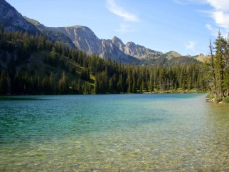 Fairy Lake and Bridger Range