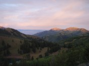 Eastern Side of the Wasatch Mountains