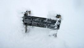 Saddle Trail Marker