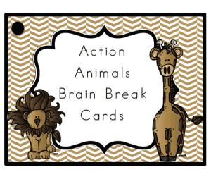 Action Animals Brain Breaks