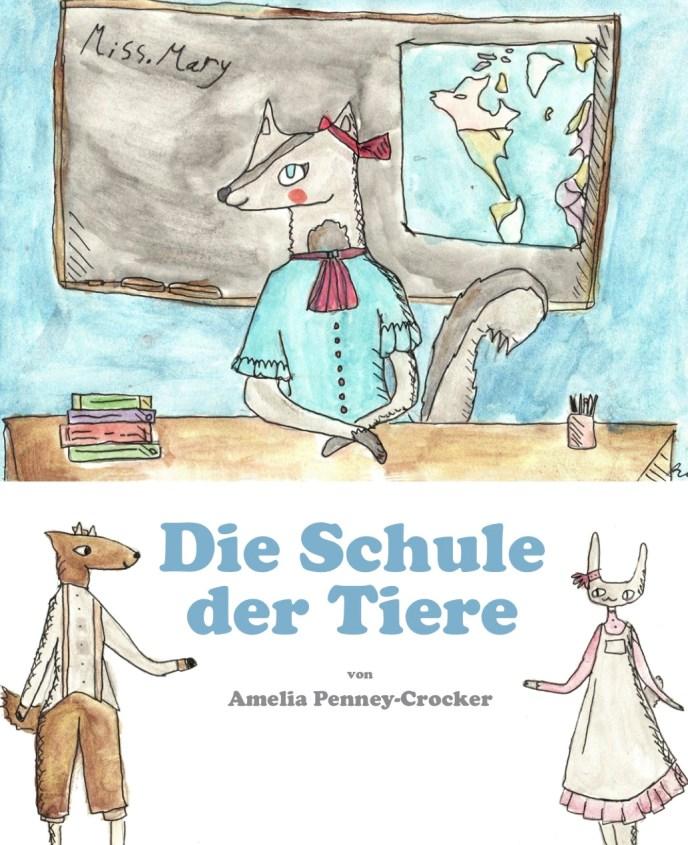German Cover - Die Schule der Tiere