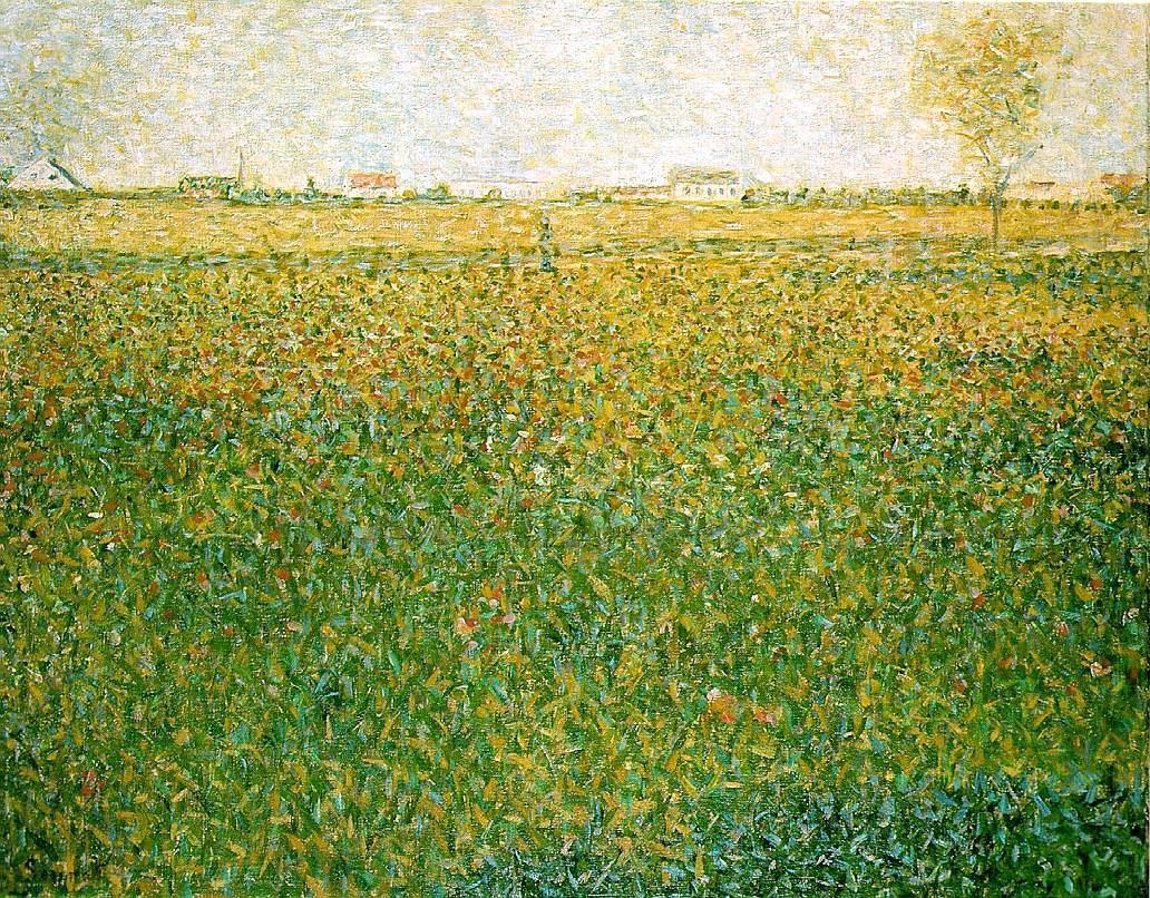Alfalfa, St. Denis Georges Seurat.