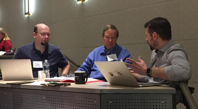 Jordan Mantha, Walter Bradley and Nathan Lents.
