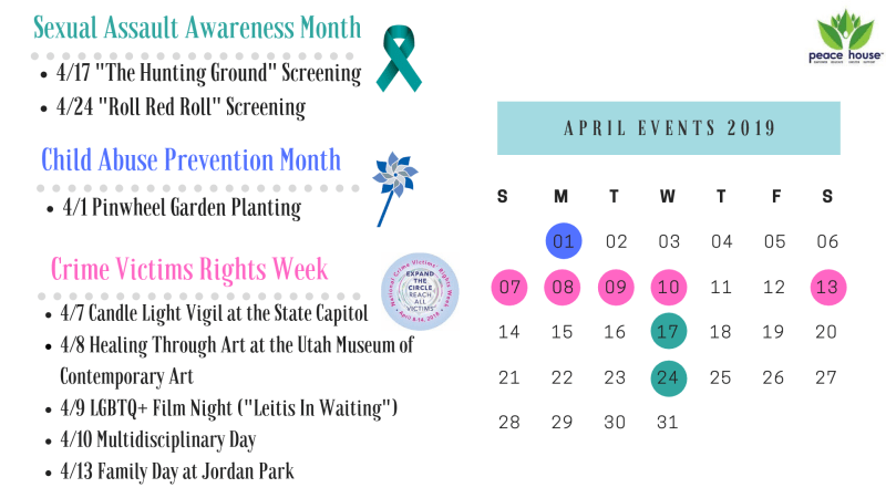 April Awareness Calendar