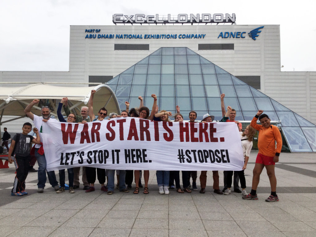 Stop the Arms Fair Protests