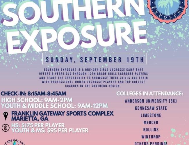 TopOftheBayLacrosse: Southern Exposure