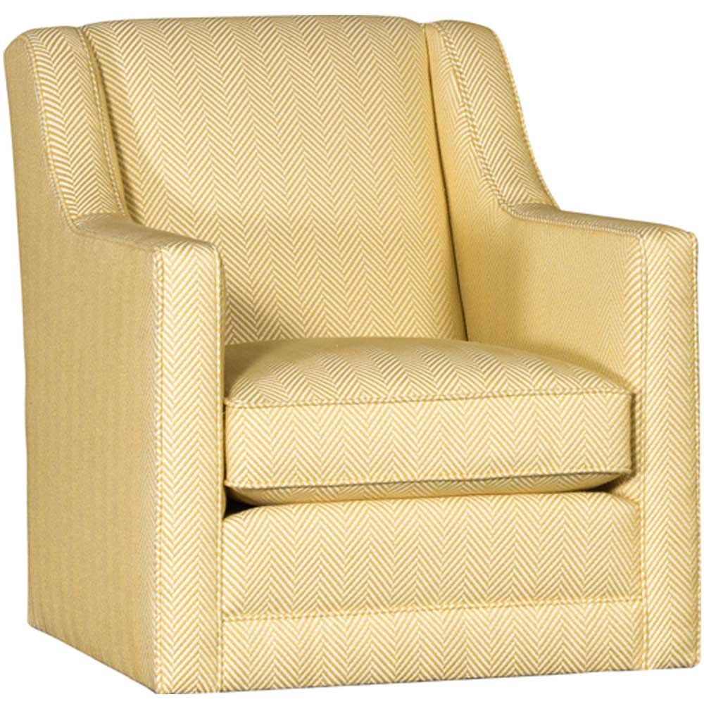 Upholstered Swivel Chairs Mayo Furniture Underwood Citrine Upholstered Swivel