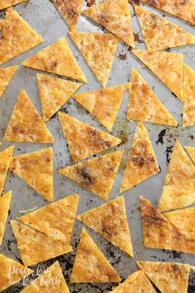 Low Carb Tortilla Chips - Peace Love and Low Carb