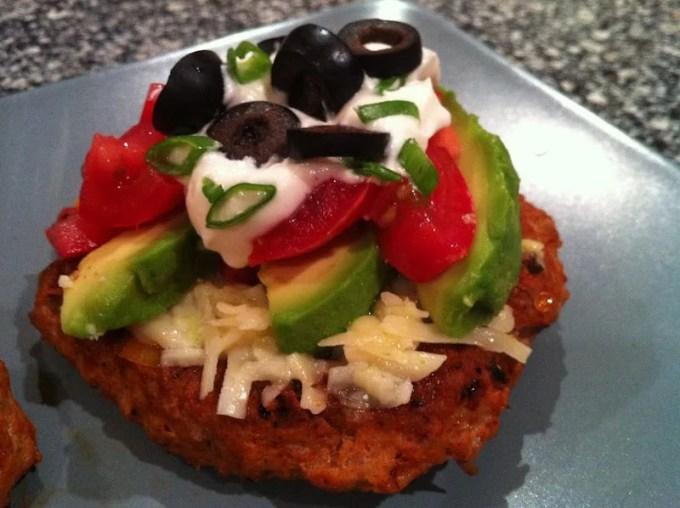 Keto Taco Tuesday Recipes - Turkey Taco Burgers - Low Carb