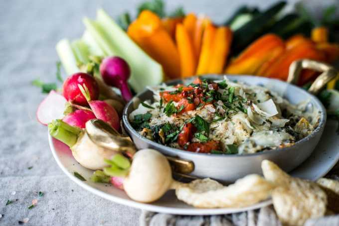 Low Carb Spinach and Artichoke Dip | Peace Love and Low Carb