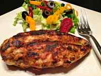 Blackened Dijon Chicken - Low Carb, Whole30 | Peace Love and Low Carb