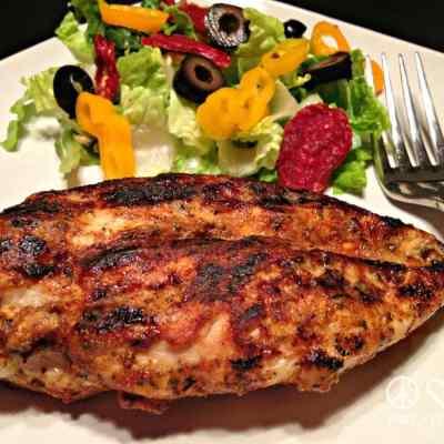 Blackened Dijon Chicken – Low Carb, Paleo, Whole30