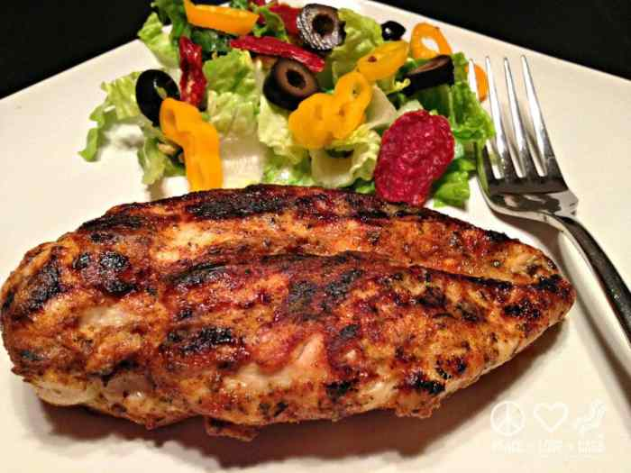 Blackened Dijon Chicken - Low Carb, Whole30   Peace Love and Low Carb