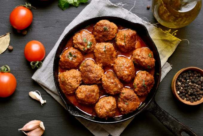 Tomato Dijon Turkey Meatballs   Peace Love and Low Carb