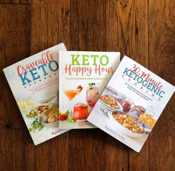 Kyndra Holley   Keto Cookbooks