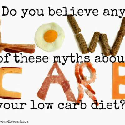 10 Myths Within The Low-Carb Community